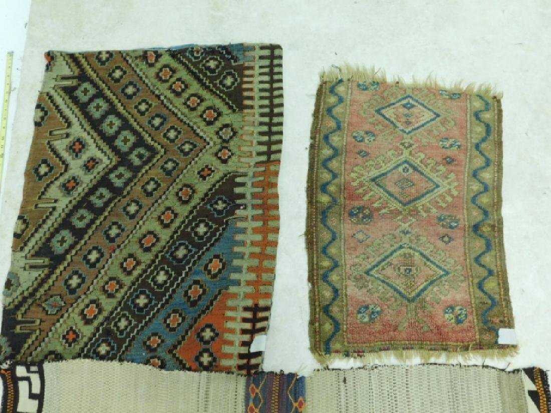 HAND TIED RUGS AND CARPET BAG - 6