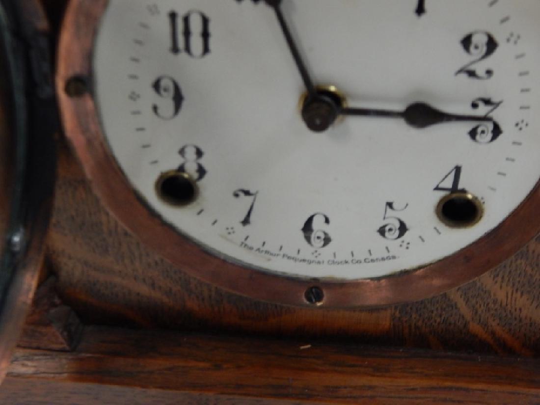 ARTHUR PEQUEGANT MANTEL CLOCK - 4