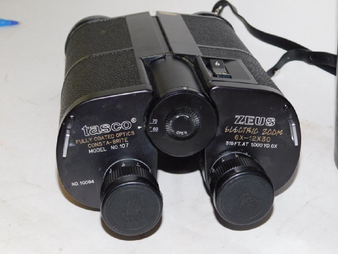 TASCO ZEUS ELECTRIC ZOOM BINOCULARS - 2