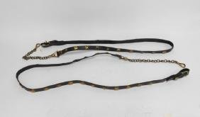 PAIR OF HORSE HARNESS LEADS