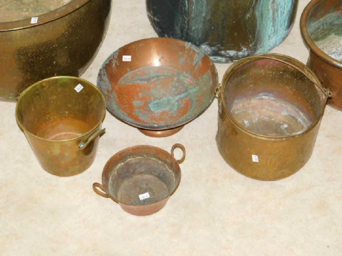 LOT OF BRASS AND COPPER - 2