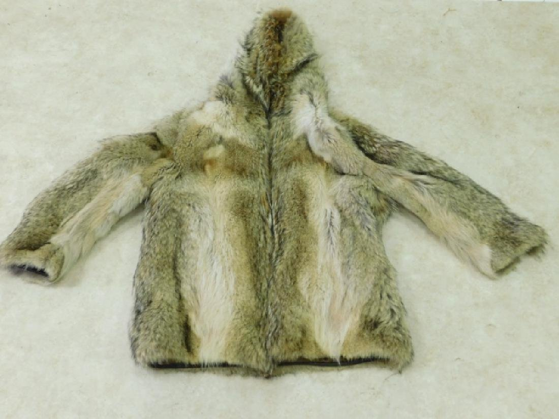 MENS FUR JACKET WITH HAT