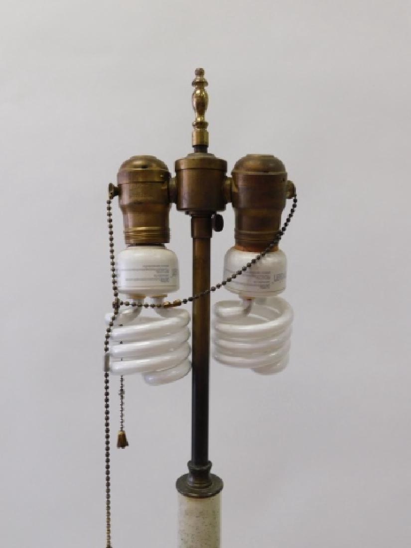 PAIR OF BRASS FLOOR LAMPS - 2