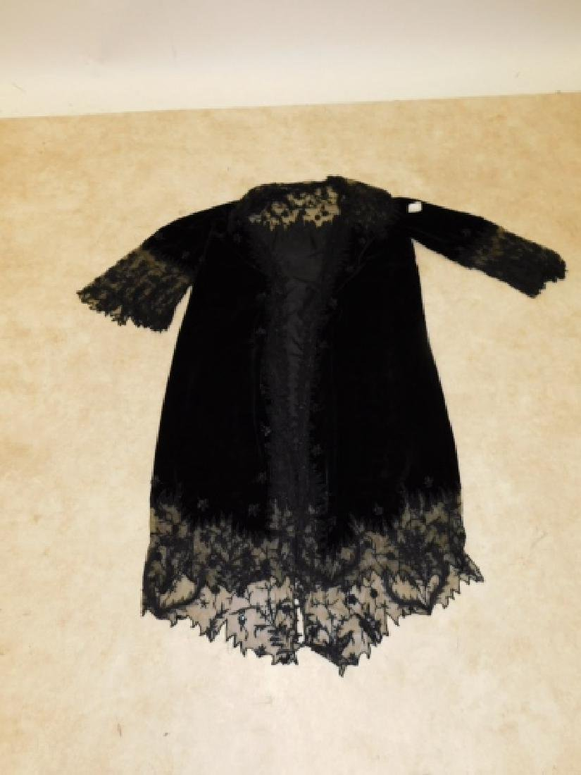 LADIES LACE JACKET WITH BEADED CAMISOLE - 7