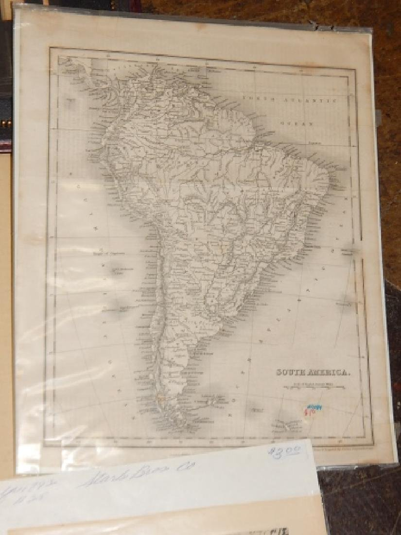 LARGE LOT OF OLD MAPS - 3