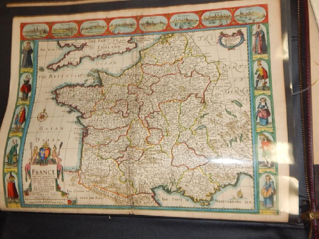 LARGE LOT OF OLD MAPS - 4