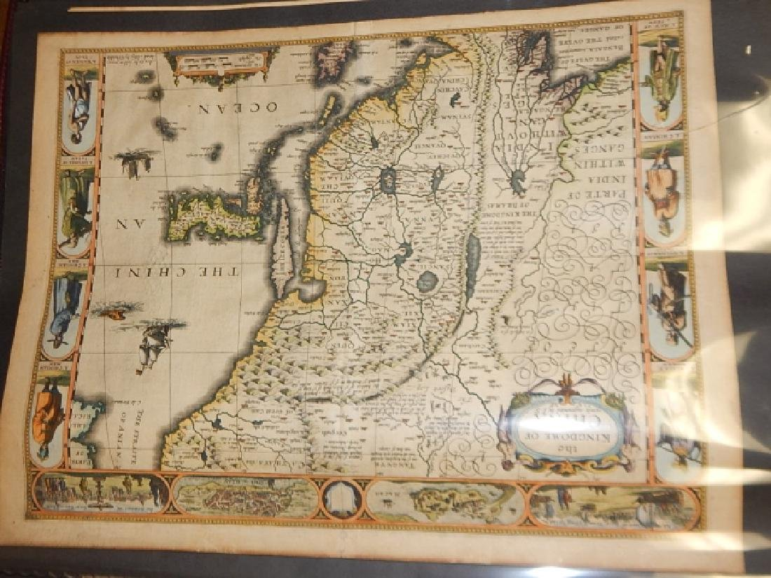 LARGE LOT OF OLD MAPS - 5