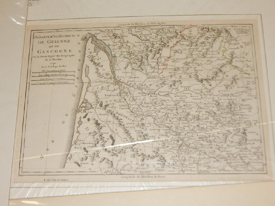 LARGE LOT OF OLD MAPS - 6