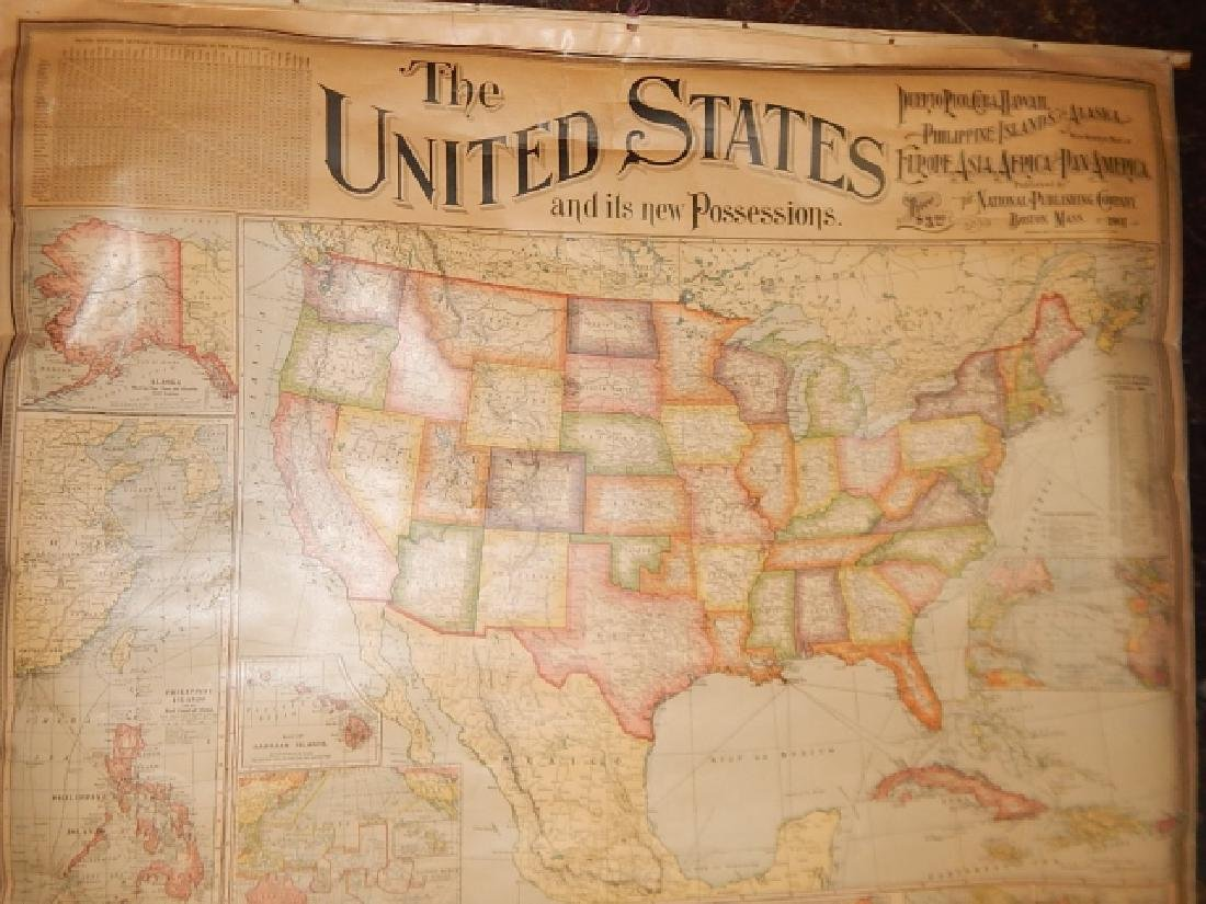 LARGE LOT OF OLD MAPS - 8