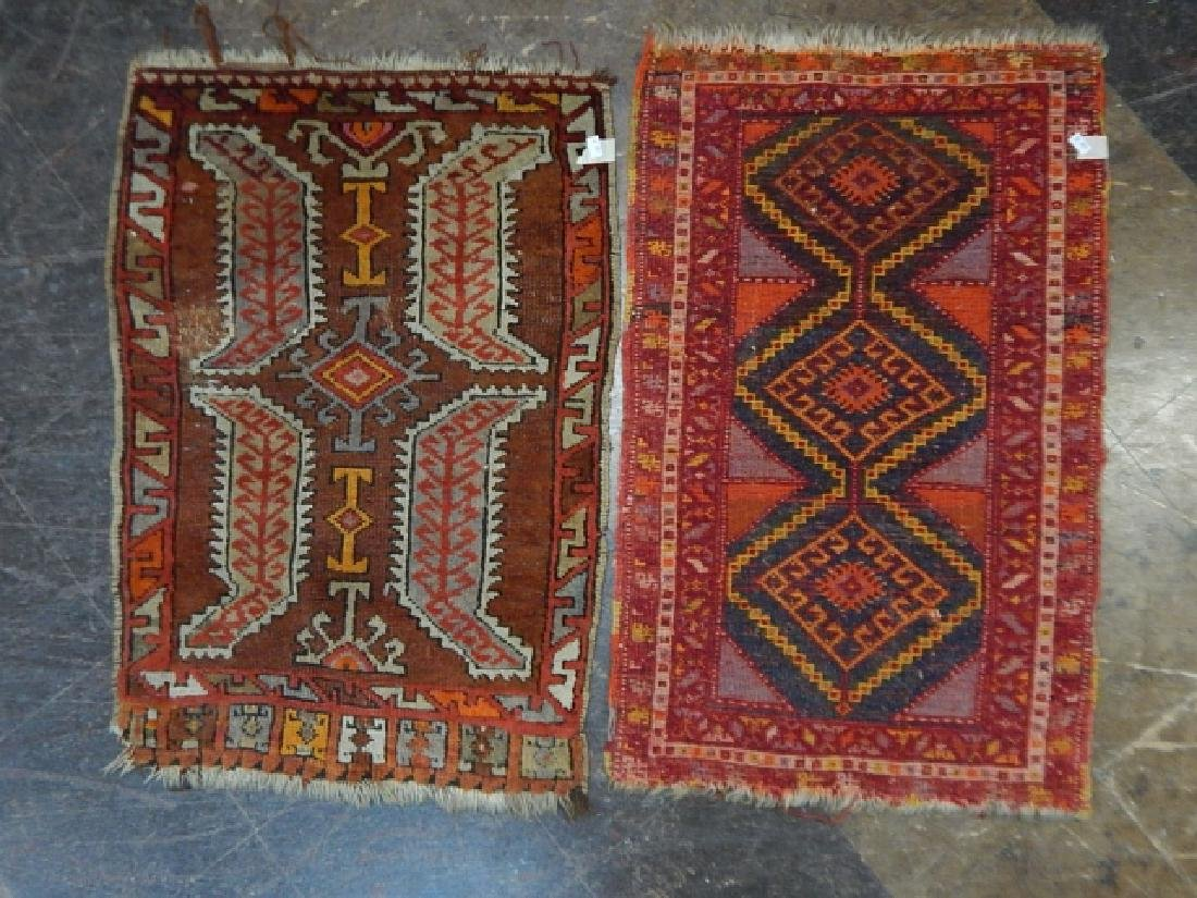 TWO HAND TIED RUGS