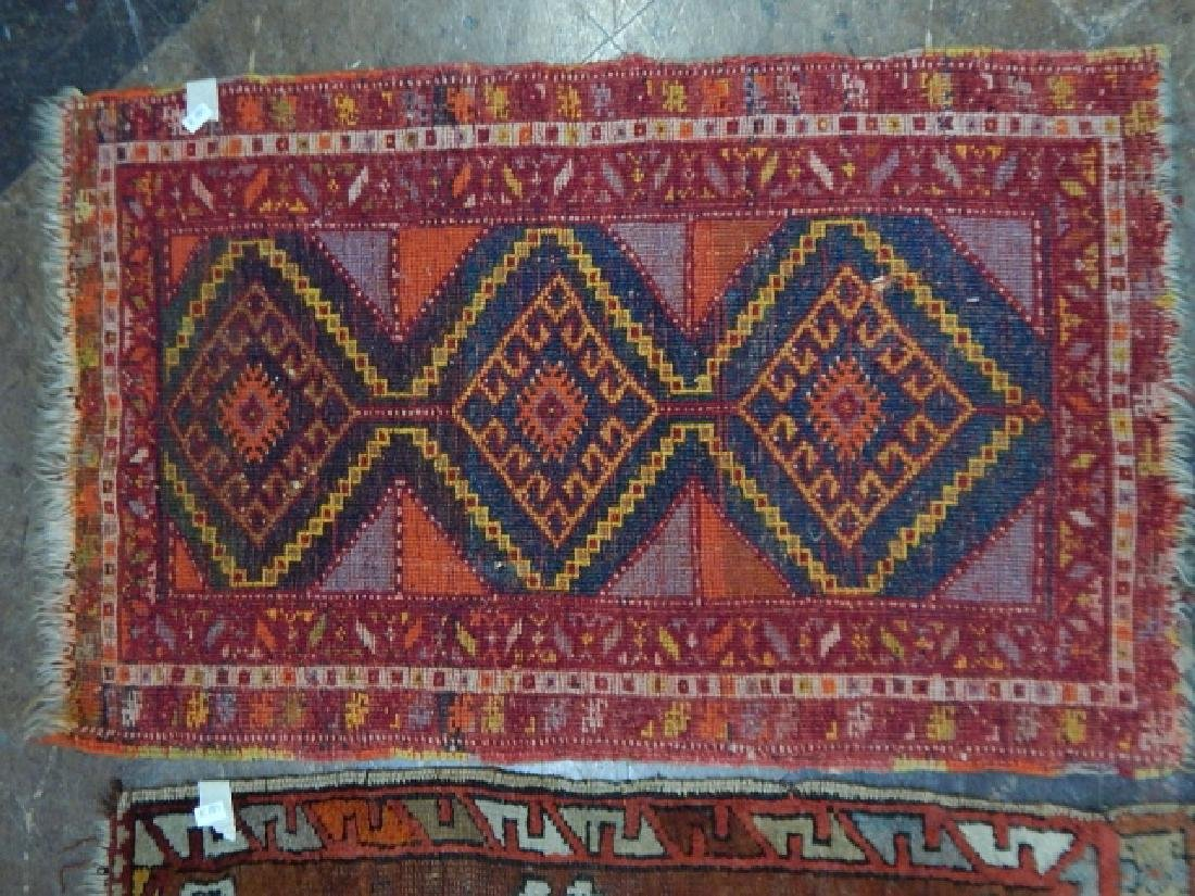 TWO HAND TIED RUGS - 2