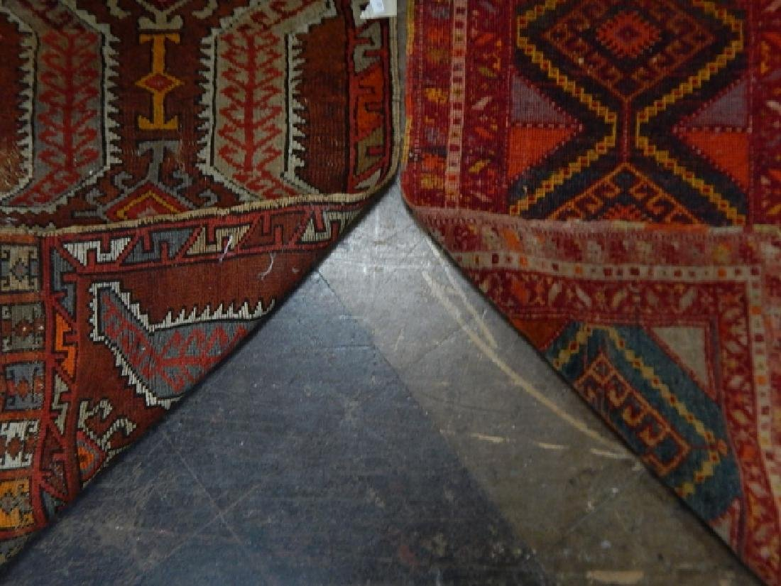 TWO HAND TIED RUGS - 5
