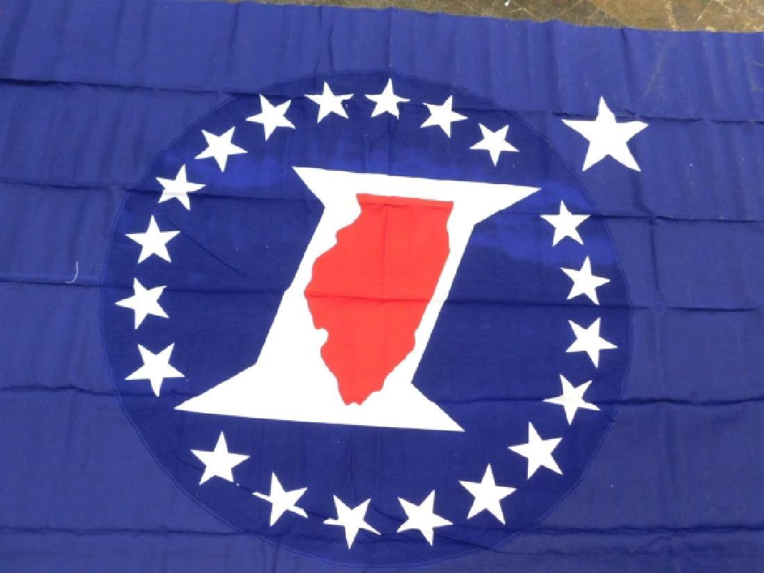 ILLINOIS FLAG - 2
