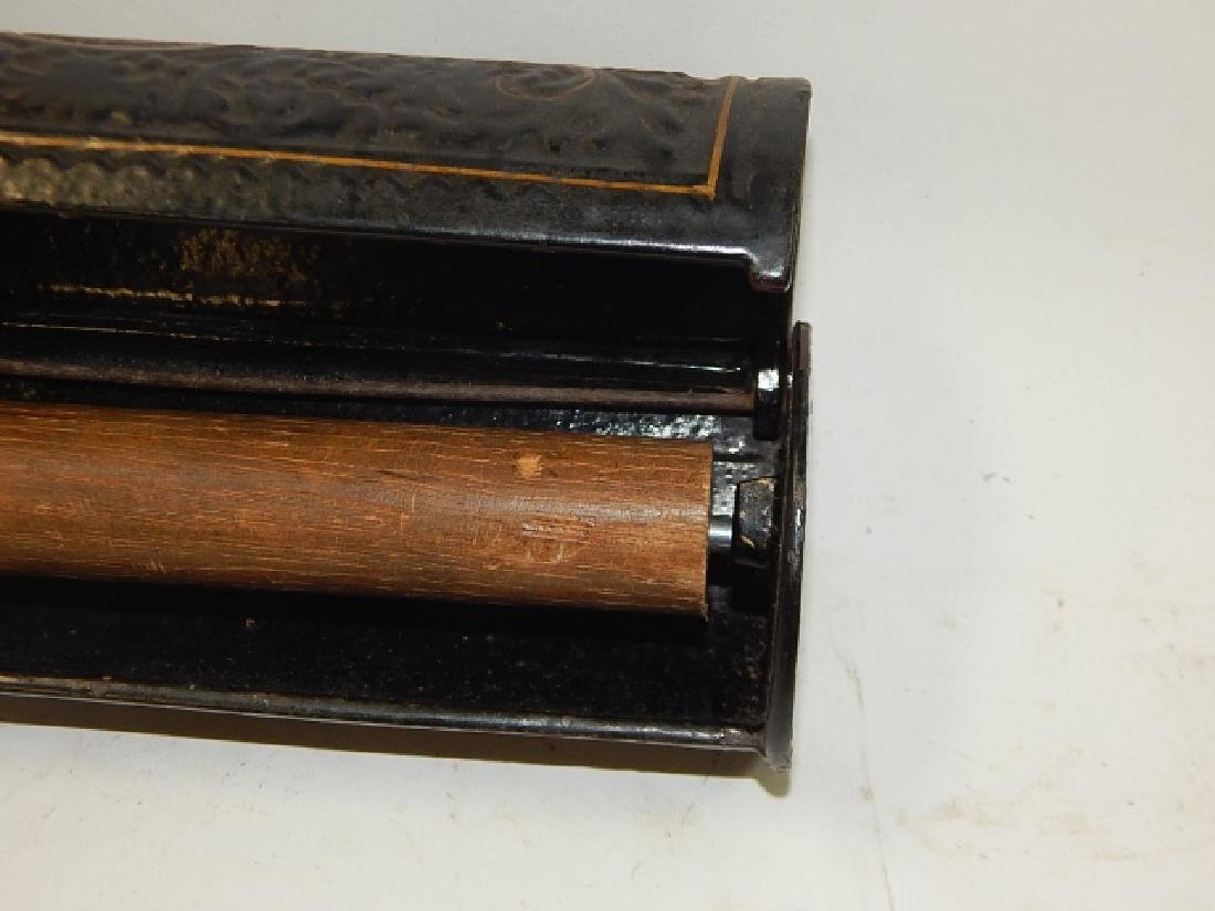 CAST IRON DOCUMENT BOX - 6