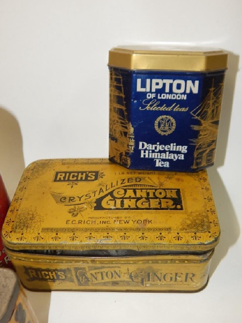 COLLECTION OF TINS - 2