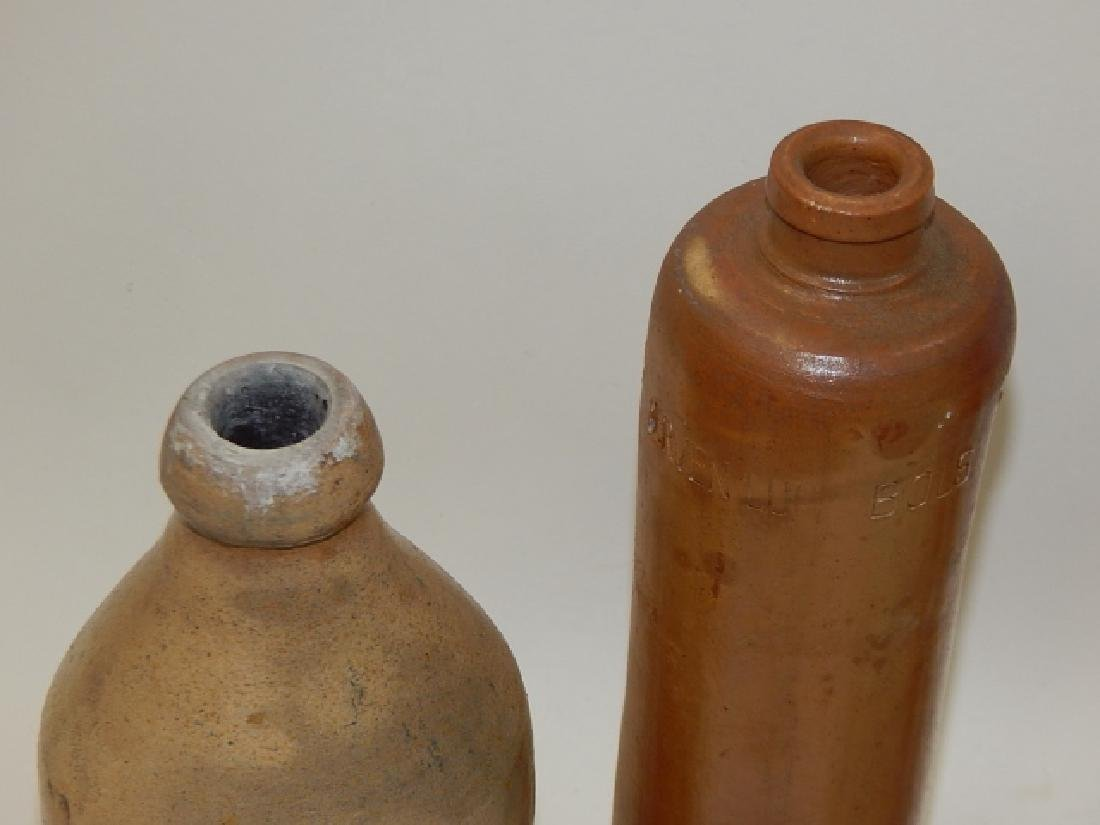 FOUR STONEWARE BOTTLES - 2