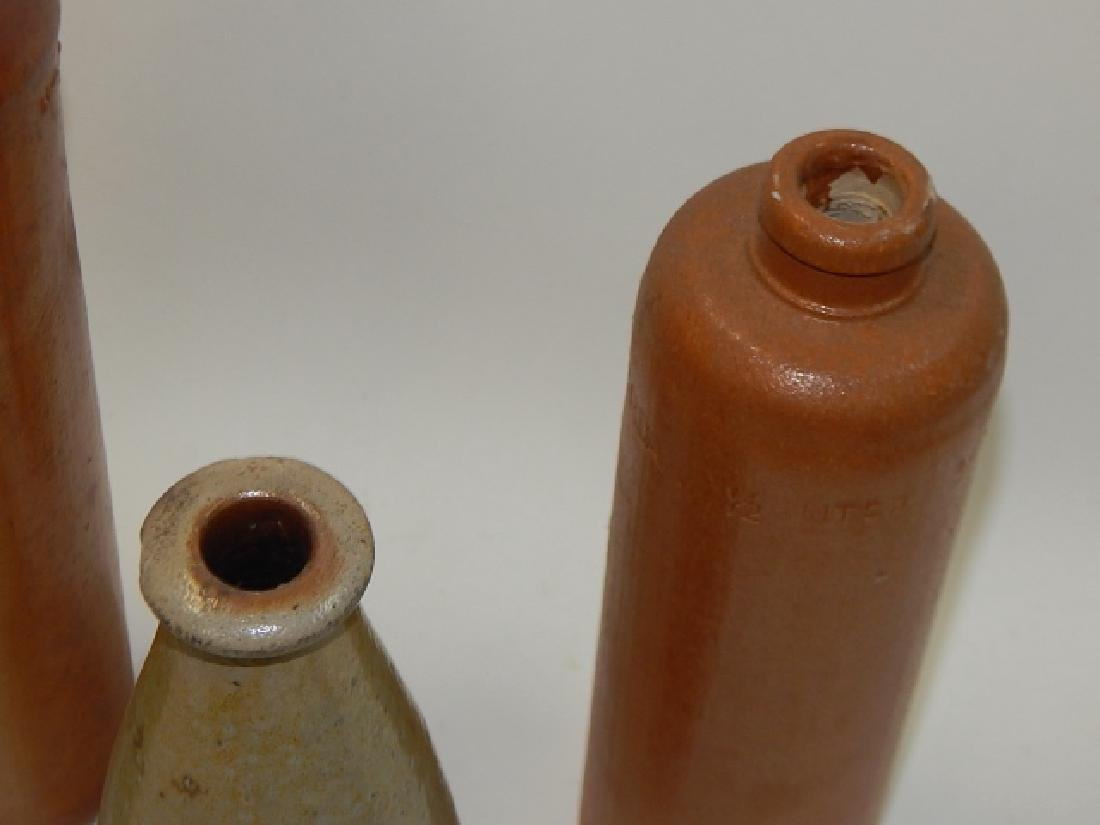FOUR STONEWARE BOTTLES - 3