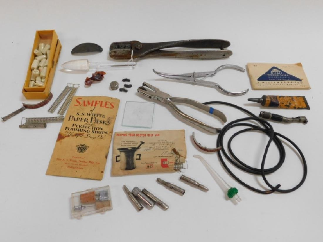 COLLECTION OF DENTAL INSTRUMENTS