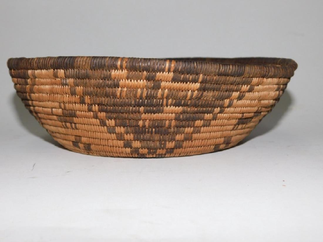AMERICAN INDIAN WOVEN BASKET - 2