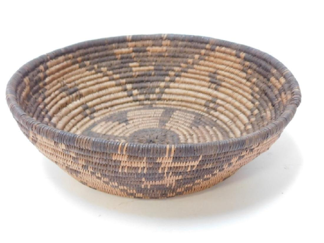 AMERICAN INDIAN WOVEN BASKET - 3