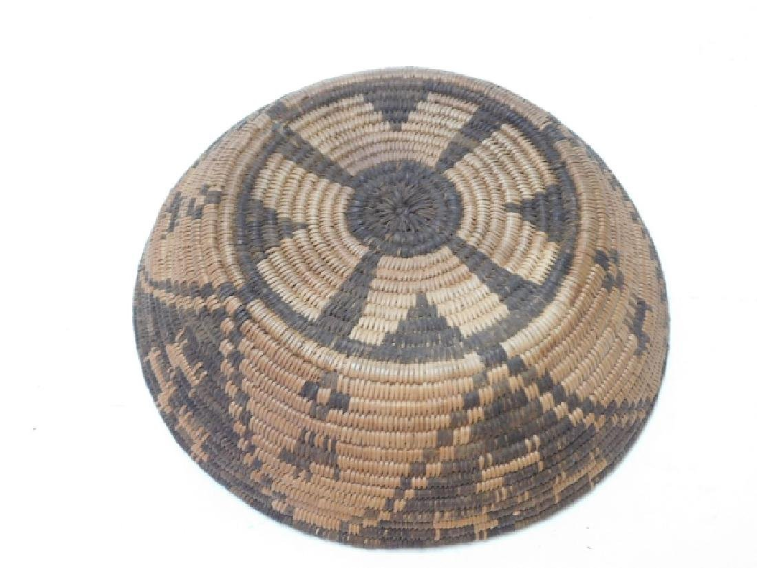 AMERICAN INDIAN WOVEN BASKET - 4