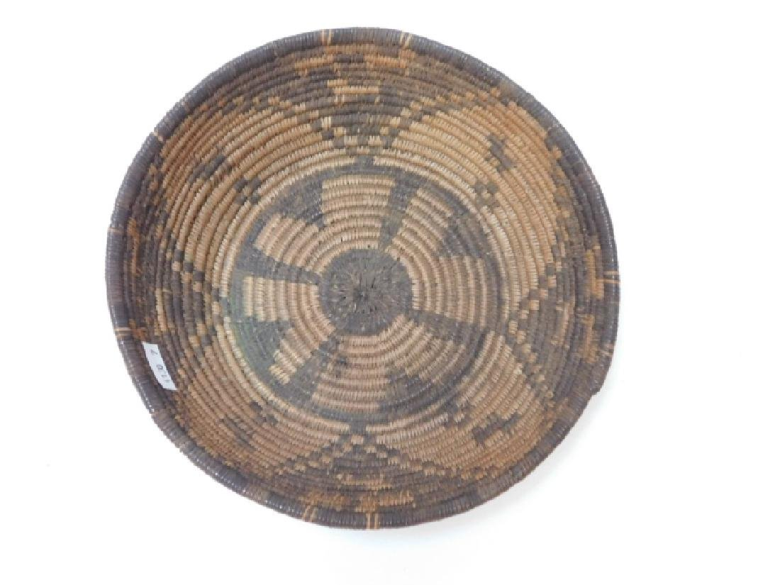 AMERICAN INDIAN WOVEN BASKET - 5