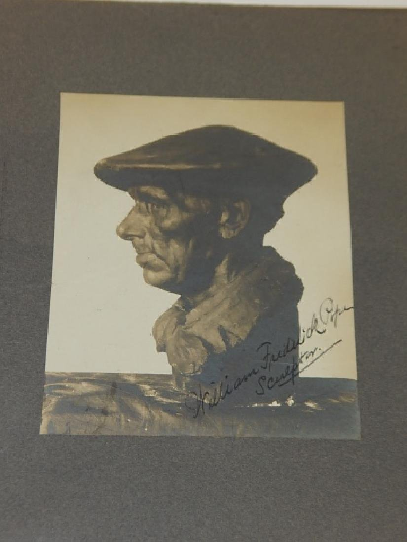 WILLIAM FREDERICK POPE AUTOGRAPHED PICTURE