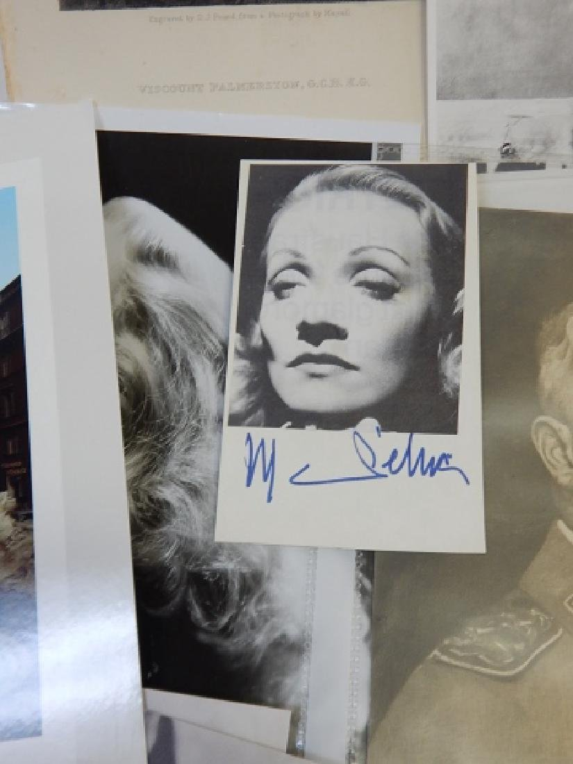 LARGE ASSORTMENT OF PHOTOS AND AUTOGRAPHS - 7