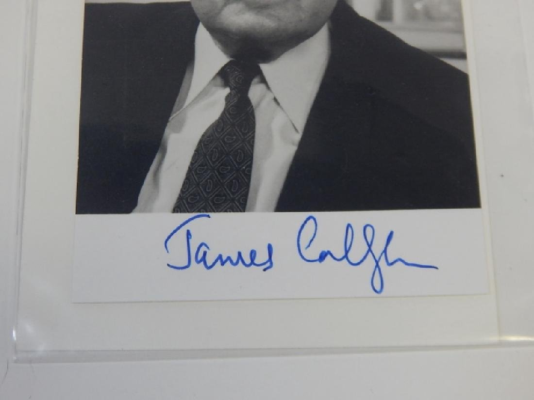 JAMES CALLAGHAN PHOTO AND AUTOGRAPH - 2