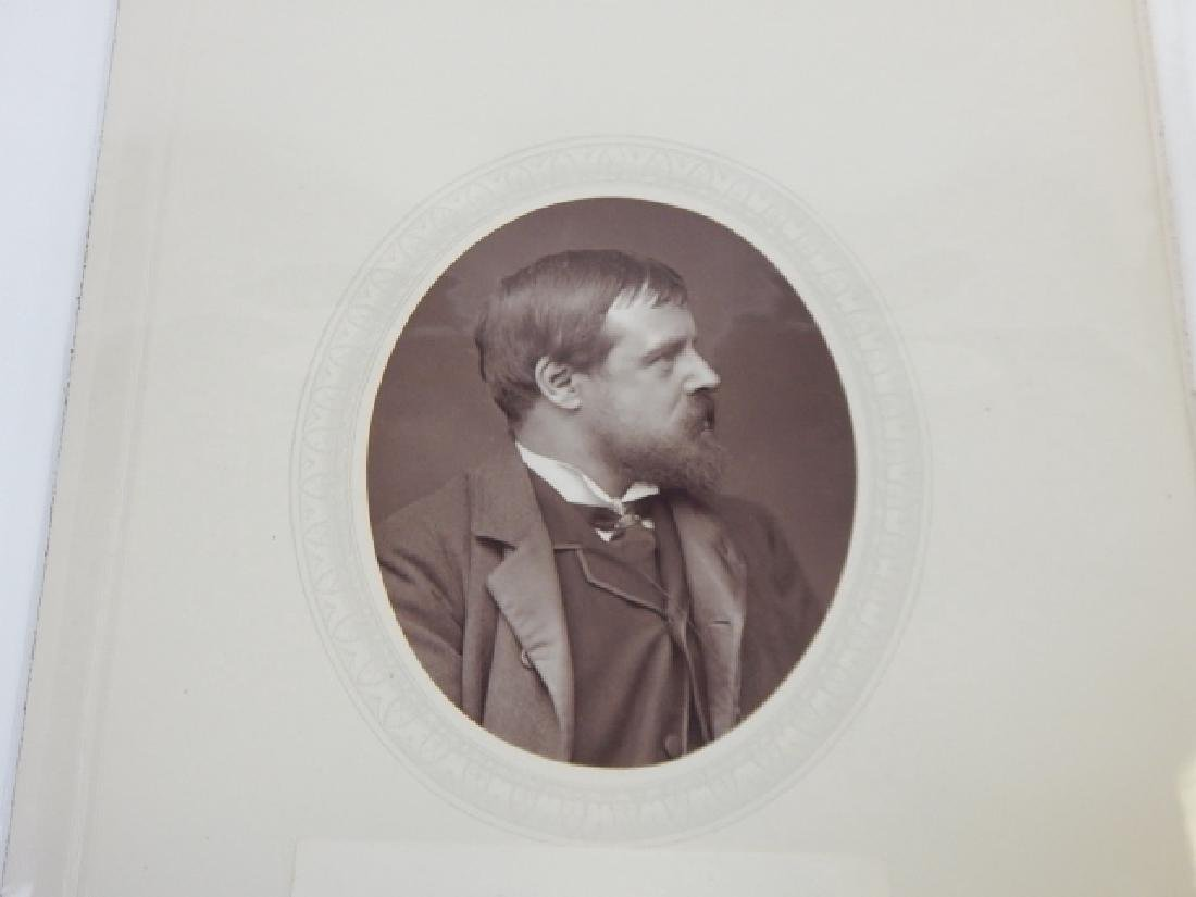 SIR LAWRENCE ALMA-TADEMA AUTOGRAPHED CARD & PHOTO - 3