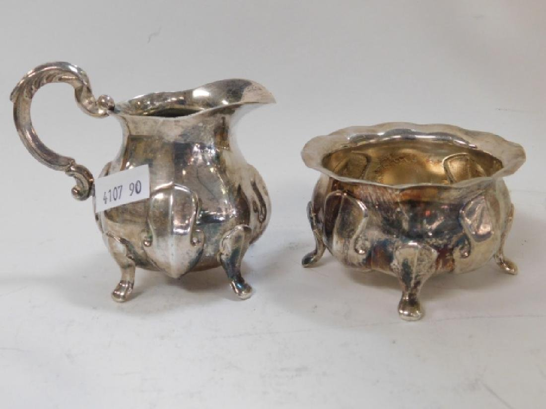 COLLECTION OF SILVER PLATE - 8