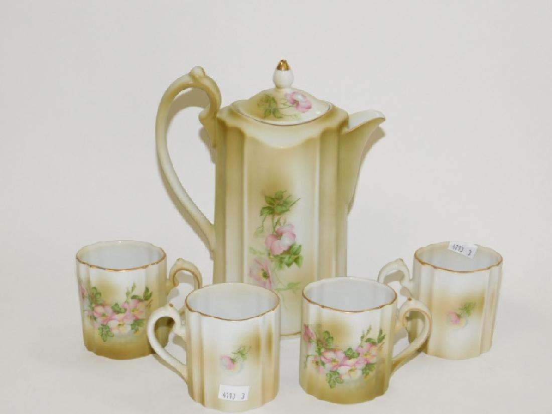 MODERN HAND PAINTED NIPPON TEA/COFFEE SET - 6