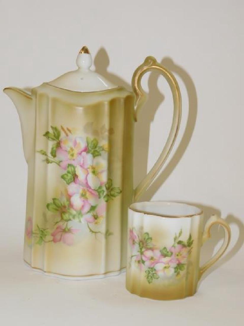 MODERN HAND PAINTED NIPPON TEA/COFFEE SET - 7