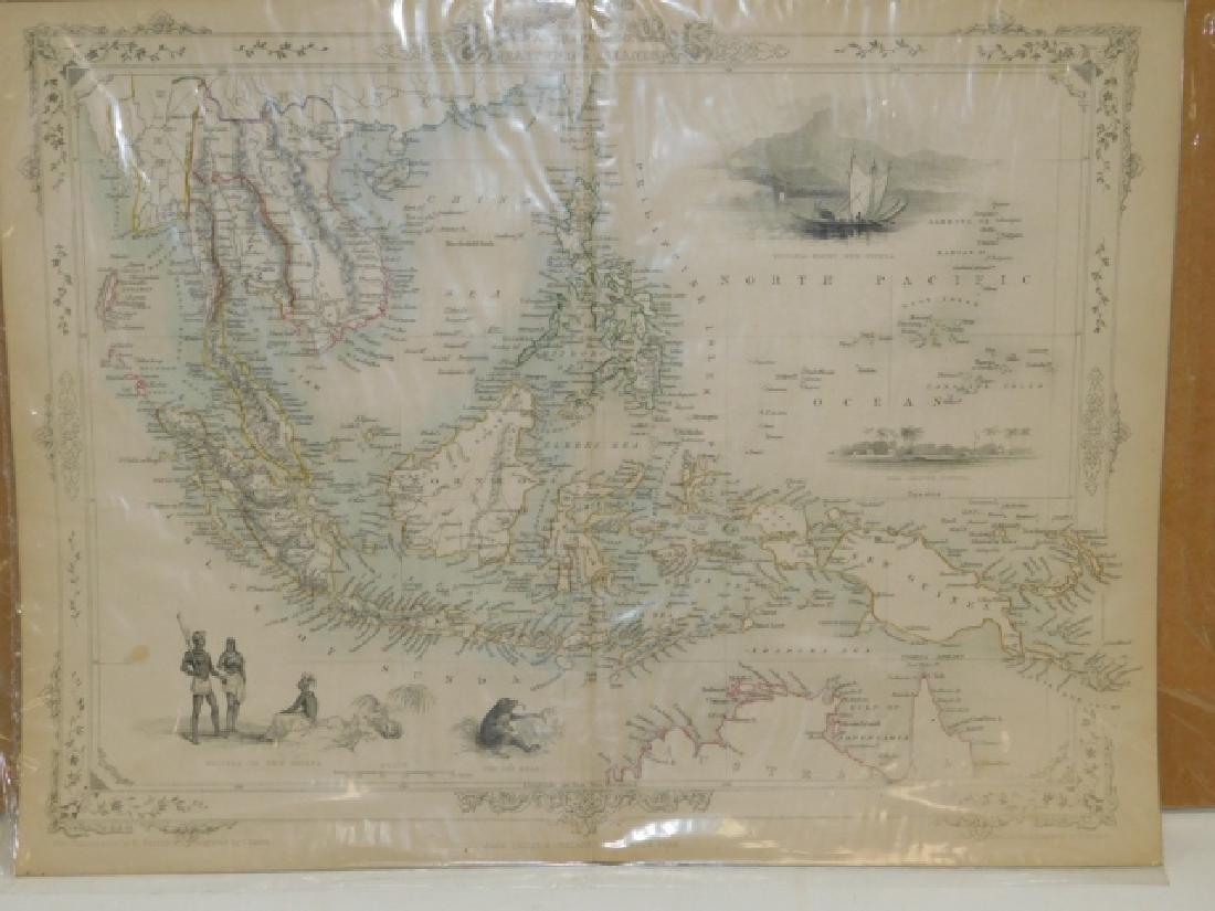MALAY, ARCHIPELAGO,OR EAST INDIA ISLANDS MAP