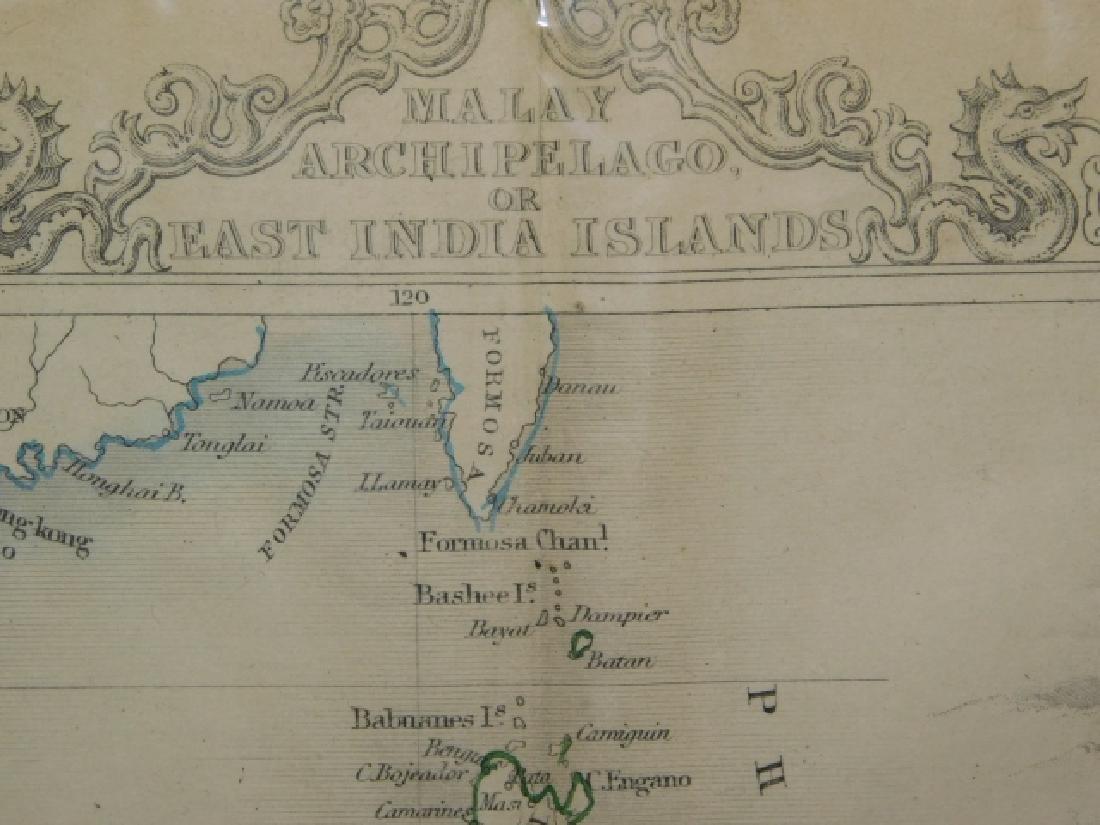 MALAY, ARCHIPELAGO,OR EAST INDIA ISLANDS MAP - 2