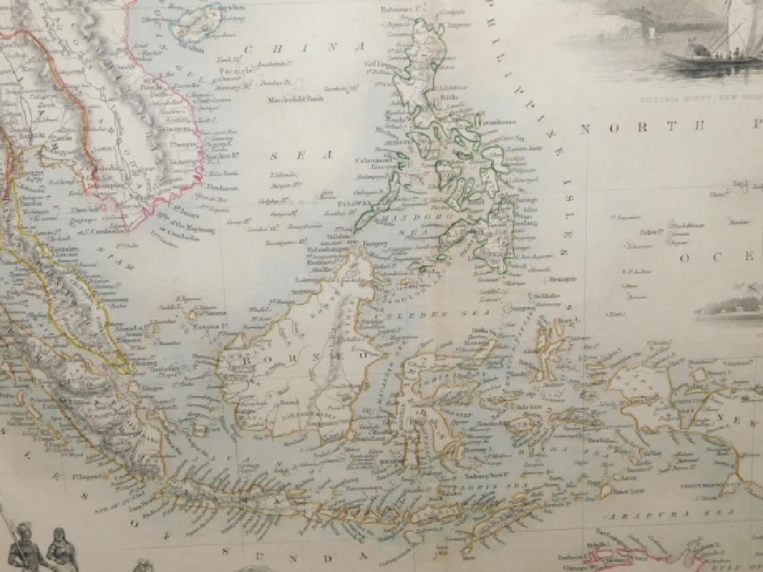 MALAY, ARCHIPELAGO,OR EAST INDIA ISLANDS MAP - 5