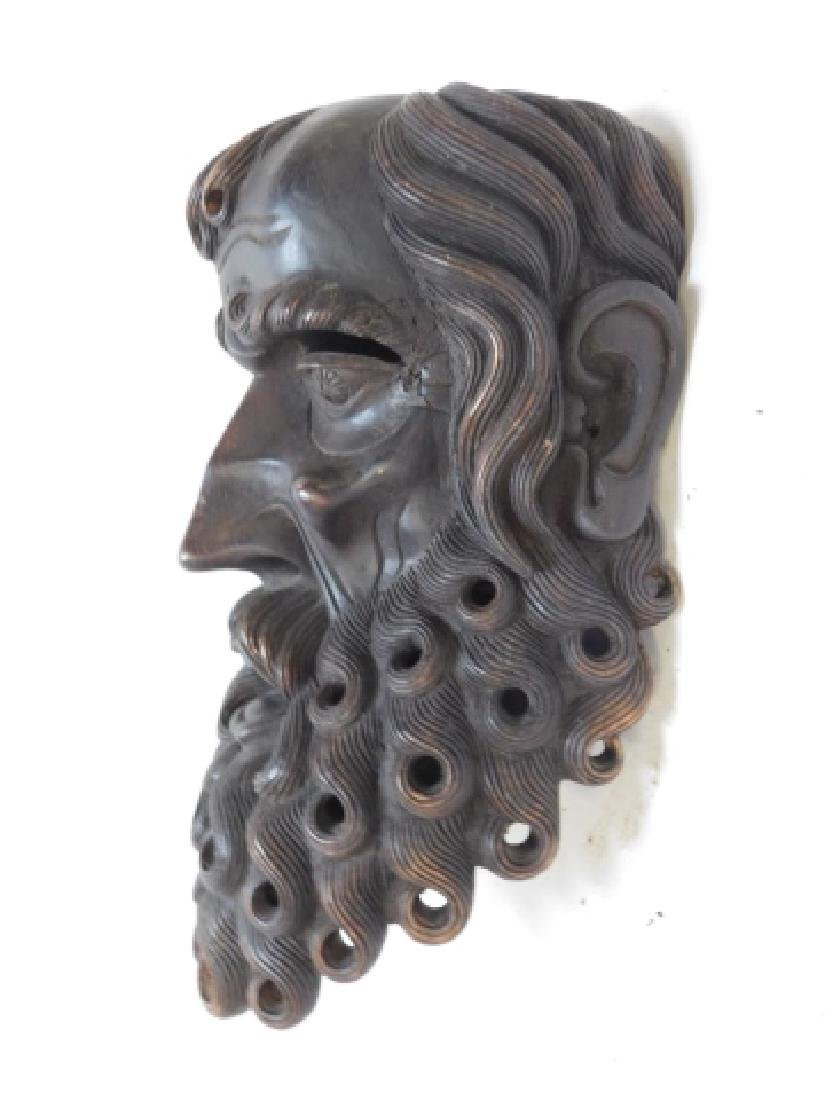 WOOD CARVED MASK - 3