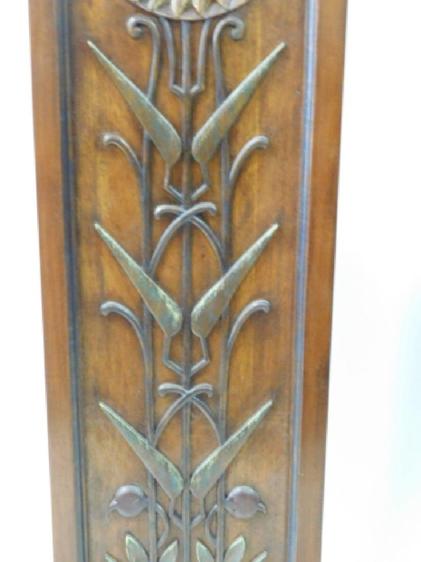 PAIR OF WOOD CARVED DECORATIVE PANELS - 3