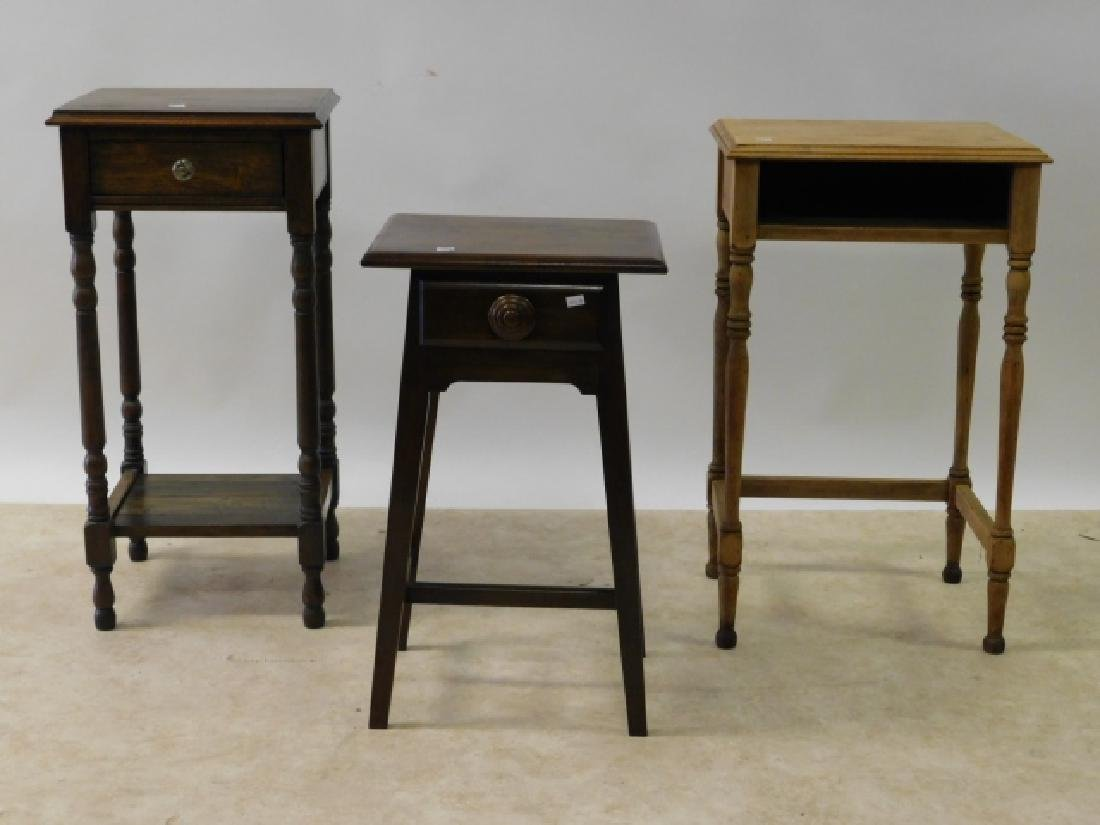 THREE END TABLES