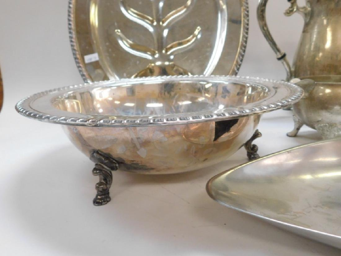 COLLECTION OF SILVER PLATE - 3