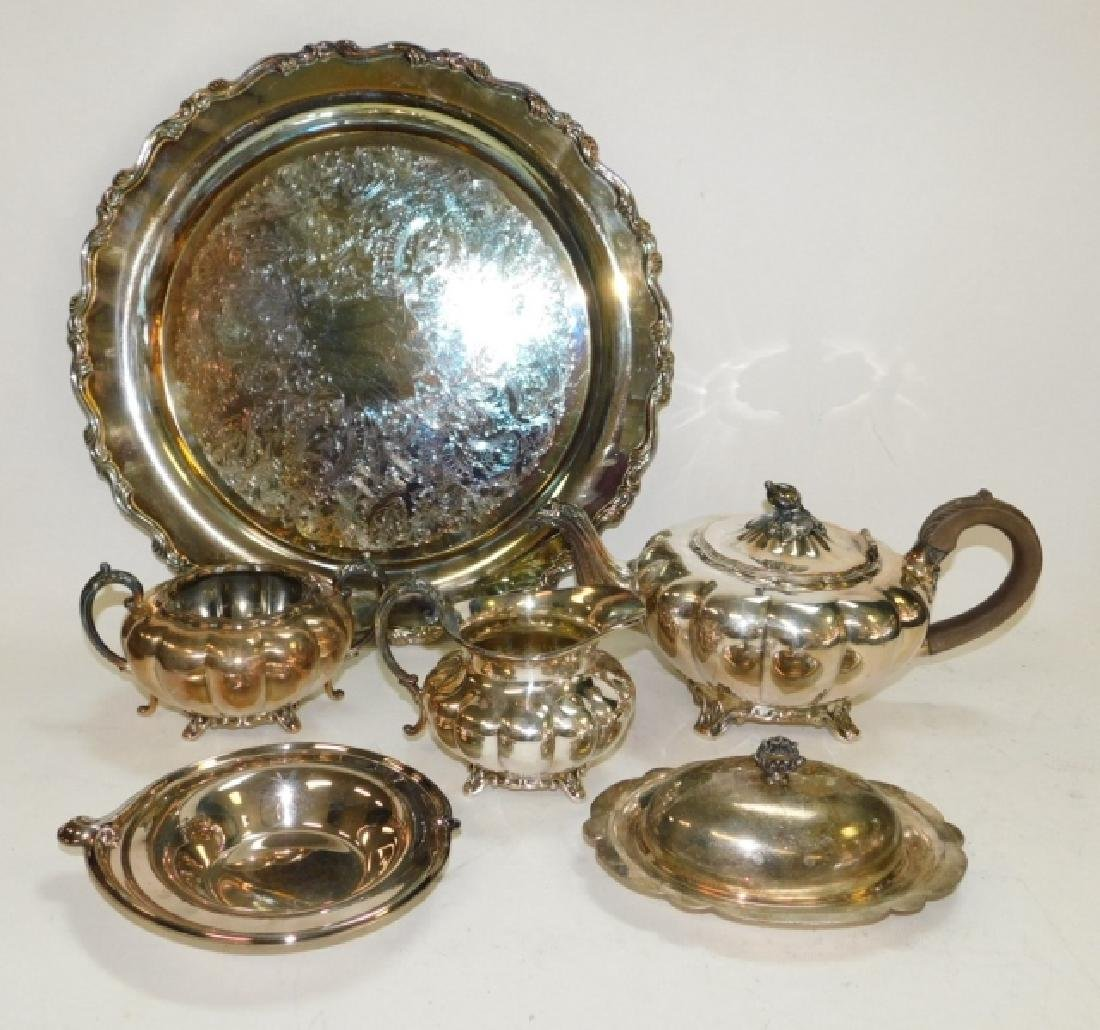 COLLECTION OF SILVER PLATE - 2