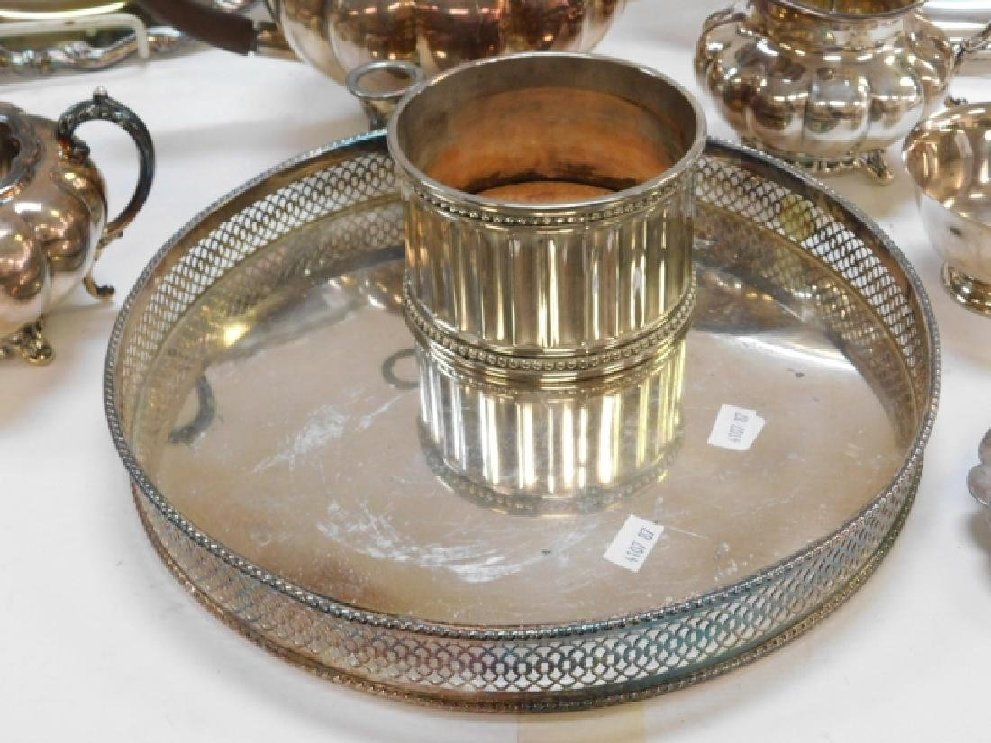 COLLECTION OF SILVER PLATE - 7