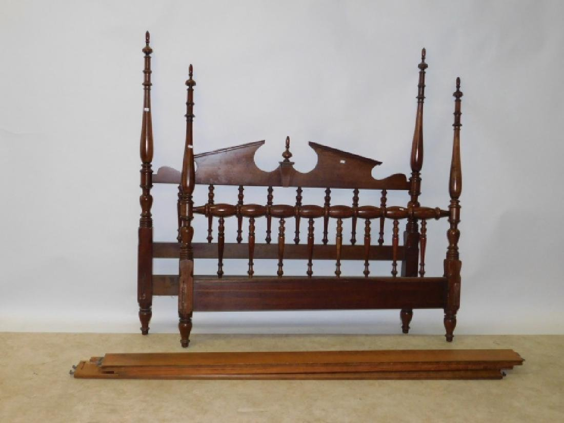 CHERRY WOOD FULL SIZE BED FRAME