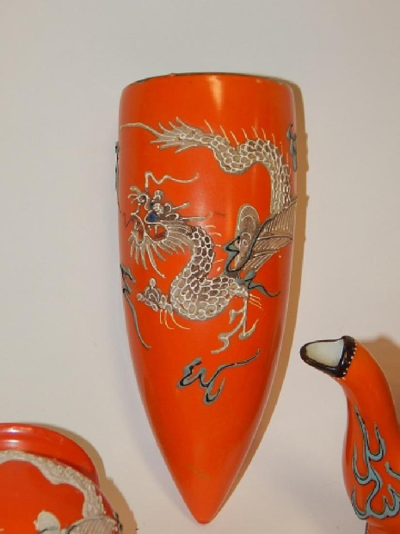LARGE COLLECTION OF DRAGONWARE DISHES - 3