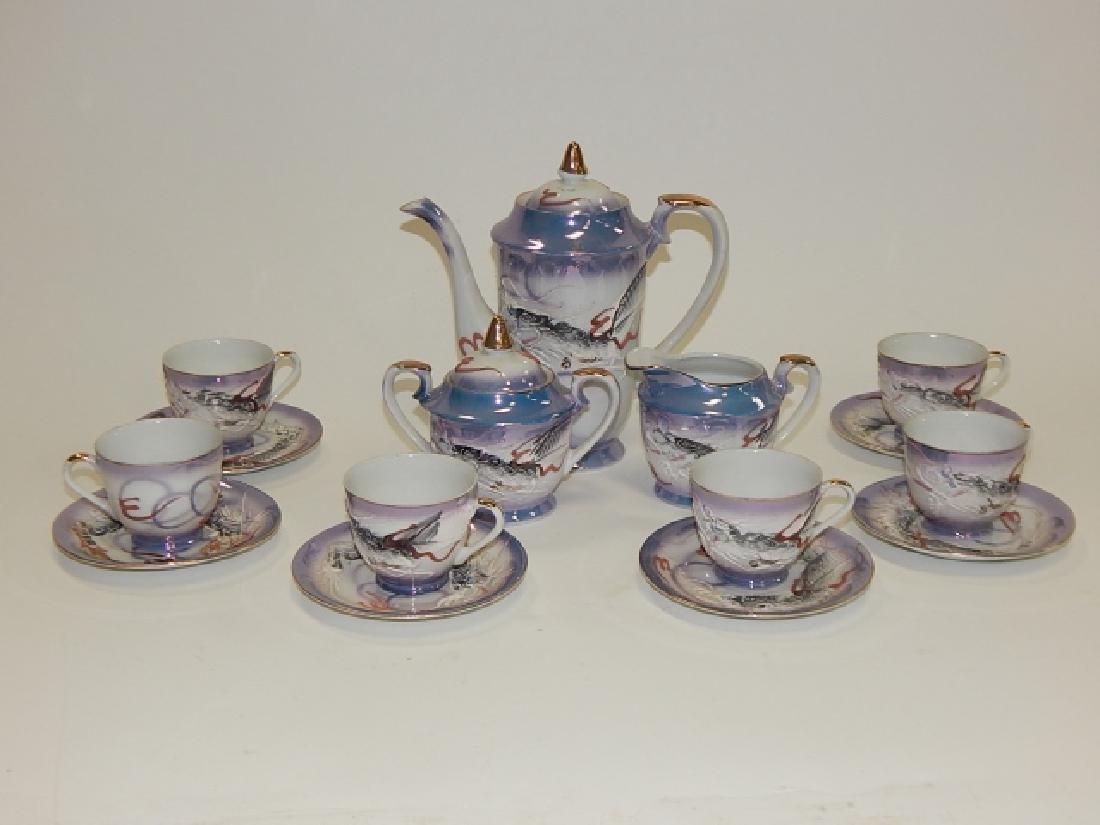 DRAGONWARE TEA SET, SERVICE FOR 6 - 2