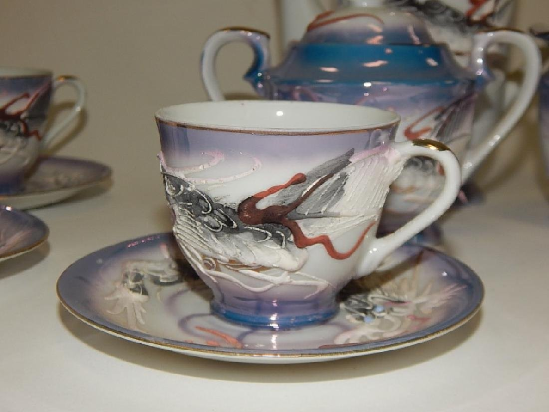 DRAGONWARE TEA SET, SERVICE FOR 6 - 3
