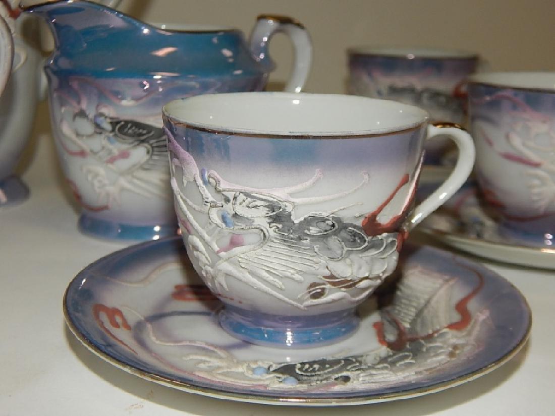 DRAGONWARE TEA SET, SERVICE FOR 6 - 4