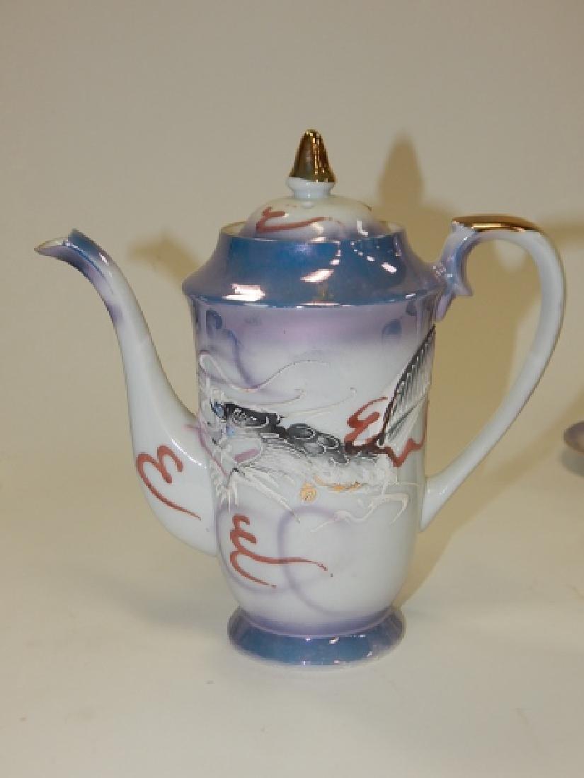 DRAGONWARE TEA SET, SERVICE FOR 6 - 6
