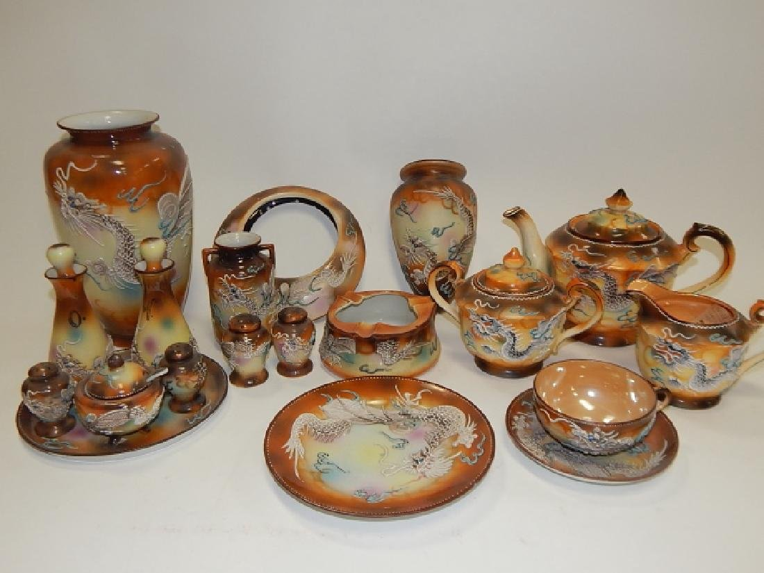 LARGE LOT OF DRAGONWARE DISHES