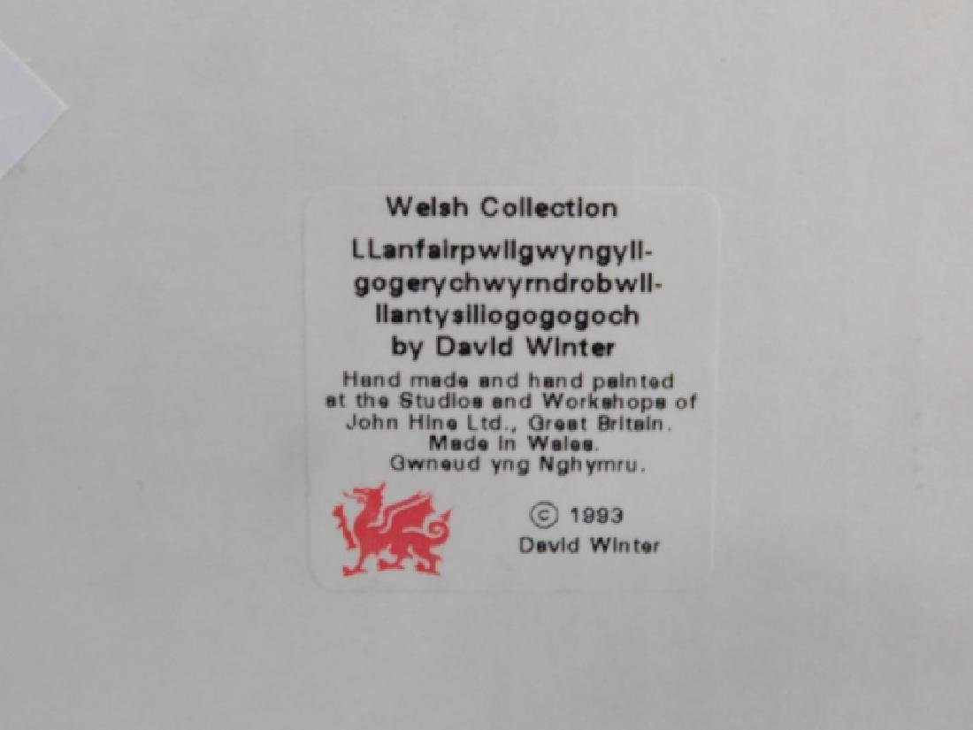 6 PIECE DAVID WINTER COLLECTION - 5